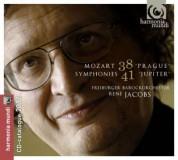 Freiburger Barockorchester, René Jacobs: Mozart: Symphonie Nos.38, 41 - CD