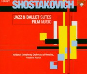 National Symphony Orchestra of Ukraine, Theodore Kuchar: Shostakovich: Jazz & Ballet Suites, Film Music - CD