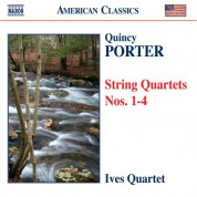 Ives Quartet: Porter, Q.: String Quartets Nos. 1-4 - CD