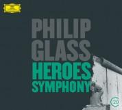 American Composers Orchestra, Christoph von Dohnányi, Dennis Russell Davies, Gidon Kremer, Wiener Philharmoniker: Glass: Heroes Symphony, Violin Concerto - CD