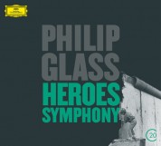 American Composers Orchestra, Christoph von Dohnányi, Dennis Russell Davies, Gidon Kremer, Wiener Philharmoniker: Glass: Heroes Symphony, Violin Concerto - CD