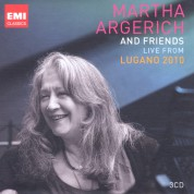 Martha Argerich: Live from Lugano 2010 - CD