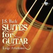 Luigi Attademo: J.S. Bach: Suites for Guitar - CD
