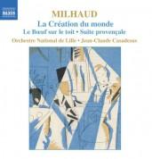 Jean-Claude Casadesus: Milhaud: La Creation Du Monde / Le Boeuf Sur Le Toit / Suite Provencale - CD
