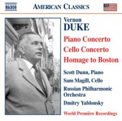 Russian Philharmonic Orchestra: Duke: Piano Concerto / Cello Concerto / Homage To Boston - CD