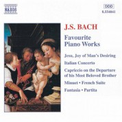 Bach, J.S.: Favourite Piano Works - CD