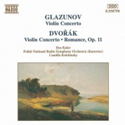 Ilya Kaler: Glazunov / Dvorak: Violin Concertos in A Minor - CD