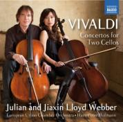 European Union Chamber Orchestra, Hans-Peter Hofmann, Jiaxin Lloyd Webber, Julian Lloyd Webber: Vivaldi: Concertos for 2 Cellos - CD