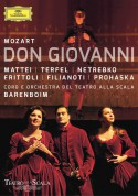 Peter Mattei, Bryn Terfel, Anna Netrebko, Daniel Barenboim: Mozart: Don Giovanni - DVD