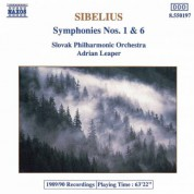 Sibelius: Symphonies Nos. 1 and 6 - CD