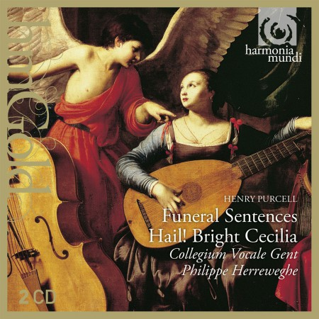 Colllegium Vocale Gent, Philippe Herreweghe: Purcell: Funeral Sentences, Hail Bright Caecilia - CD