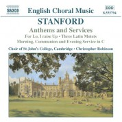 Stanford: Anthems and Services - CD