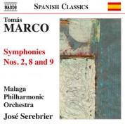 José Serebrier: Marco: Symphonies Nos. 2, 8 & 9 - CD