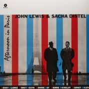 John Lewis, Sascha Distel: Afternoon in Paris - Plak