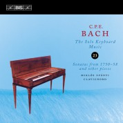 Miklós Spányi: C.P.E. Bach: Solo Keyboard Music, Vol. 23 - CD