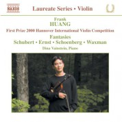 Violin Recital: Frank Huang - CD