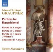 Naoko Akutagawa: Graupner, C.: Partitas, Gwv 121, 133, 149 - CD