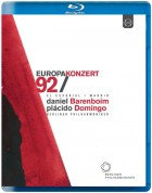 Plácido Domingo, Berliner Philharmoniker, Daniel Barenboim: Europakonzert 1992 from El Escorial - BluRay