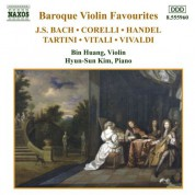 Baroque Violin Favourites - CD