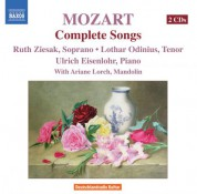 Lothar Odinius: Mozart, W.A.: Songs (Complete) - CD