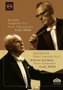 Wilhelm Backhaus, Wiener Philharmoniker, Karl Böhm: Beethoven: Piano Concerto No.4 / Brahms: Symphony No.2 - DVD
