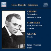 Ignaz Friedman: Chopin: Mazurkas (Friedman) (1928-1930) - CD