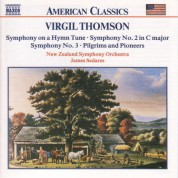 Thomson, V.: Symphonies Nos. 2 and 3 / Symphony On A Hymn Tune - CD