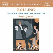 Bolling: Suites for Flute and Jazz Piano Trio - CD