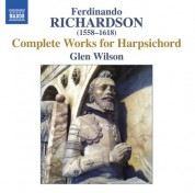 Glen Wilson: Richardson: Complete Works for Harpsichord - CD