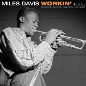 Miles Davis: Workin' (Images by Iconic Photographer Francis Wolff) - Plak