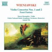 Wieniawski: Violin Concertos Nos. 1 and 2 / Faust Fantasy - CD