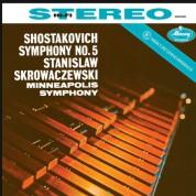 Minneapolis Symphony Orchestra, Stanislaw Skrowacziewski: Shostakovich: Symphony No. 5 - Plak