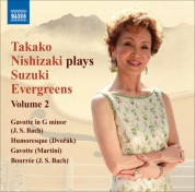 Takako Nishizaki Plays Suzuki Evergreens, Vol. 2 - CD