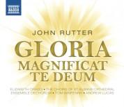 Çeşitli Sanatçılar: Rutter: Gloria - Magnificat - Te Deum - CD