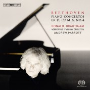 Ronald Brautigam, Norrköping Symphony Orchestra, Andrew Parrott: Beethoven: Piano Concertos No 4 and Op. 61 - SACD