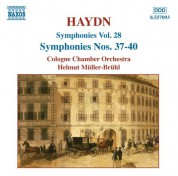 Haydn: Symphonies, Vol. 28 (Nos. 37, 38, 39, 40) - CD