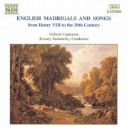 English Madrigals and Songs - CD