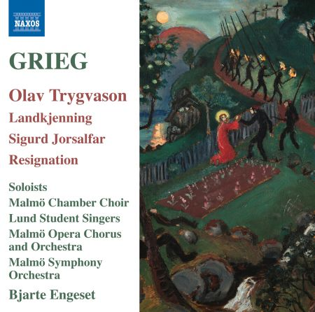 Bjarte Engeset: Grieg: Olav Trygvason, Landkjenning, Sigurd Jorsalfar & Resignation - CD