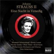Elisabeth Schwarzkopf: Strauss Ii, J.: Nacht in Venedig (Eine) (Schwarzkopf, Gedda) (1954) - CD