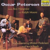 Oscar Peterson: Meets Roy Hargrove And Ralph Moore - CD