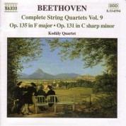 Beethoven: String Quartets, Opp. 135 and 131 - CD