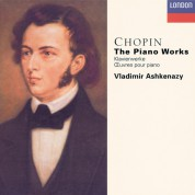 Vladimir Ashkenazy: Chopin: The Solo Piano Works - CD