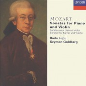 Radu Lupu, Szymon Goldberg: Mozart: The Violin Sonatas - CD