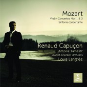 Renaud Capuçon, Antoine Tamestit, Scottish Chamber Orchestra, Louis Langree: Mozart: Violin Concertos 1 & 3 - CD