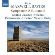 Sir Peter Maxwell Davies: Maxwell Davies: Symphonies Nos. 4 & 5 - CD