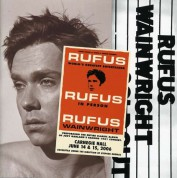 Rufus Wainwright: Rufus Does Judy At Carnegie Hall - CD