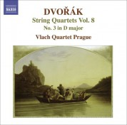 Vlach Quartet Prague: Dvorak, A.: String Quartets, Vol. 8 (Vlach Quartet) - No. 3 - CD