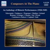 Çeşitli Sanatçılar: Composers at the Piano - An Anthology of Historic Performances (1928-1949) - CD