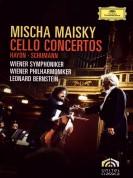 Mischa Maisky, Leonard Bernstein, Wiener Philharmoniker, Wiener Symphoniker: Schumann/ Haydn: Cello Concertos - DVD