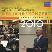Georges Prêtre, Wiener Philharmoniker: New Year's Day Concert 2010 - CD